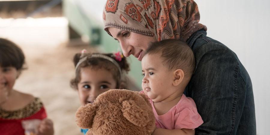 Suomelta lisätukea Syyrian pakolaisnaisille