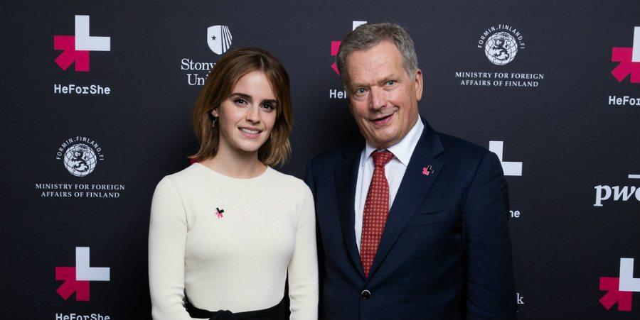 Emma Watson ja Sauli Niinistö