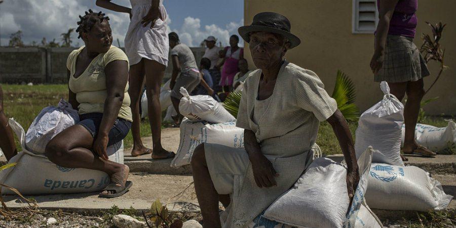 Apua Haitin hurrikaanin uhreille