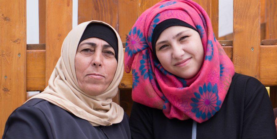 Dalia ja Hana odottavat tukea Suomesta