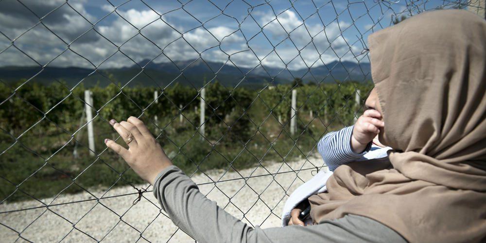 Kuvareportaasi: Euroopan unohdetut pakolaisnaiset