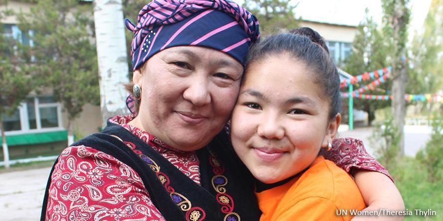 Tytöt nousevat puolustamaan oikeuksiaan Kirgisian maaseudulla