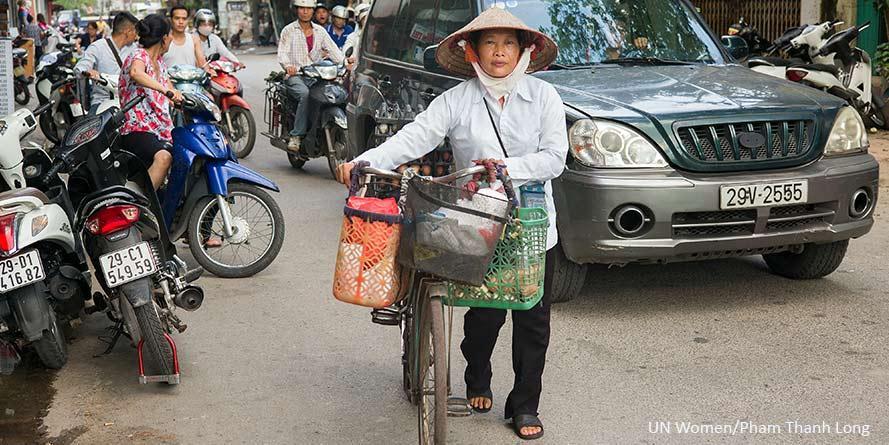Vietnamin siirtotyöläisnaiset oppivat tuntemaan oikeutensa