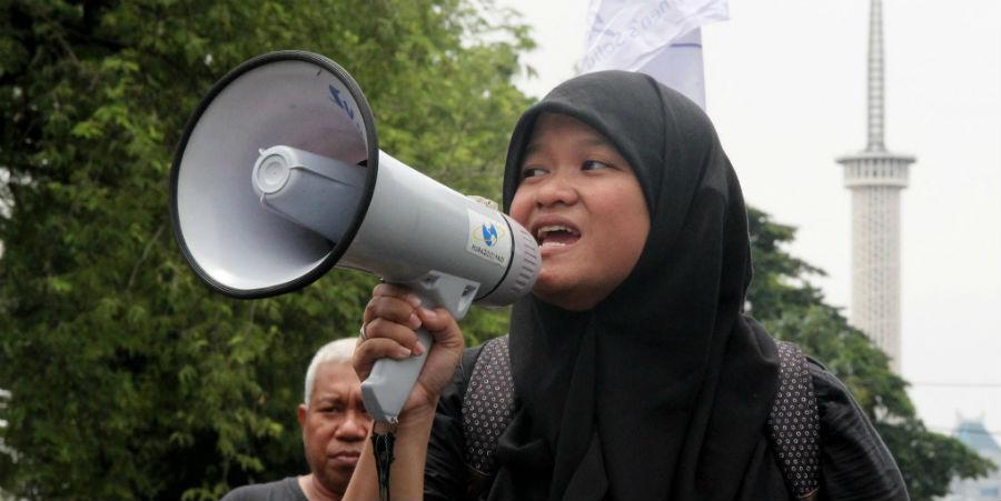 Naiset nousevat vastustamaan syrjiviä lakeja Indonesiassa