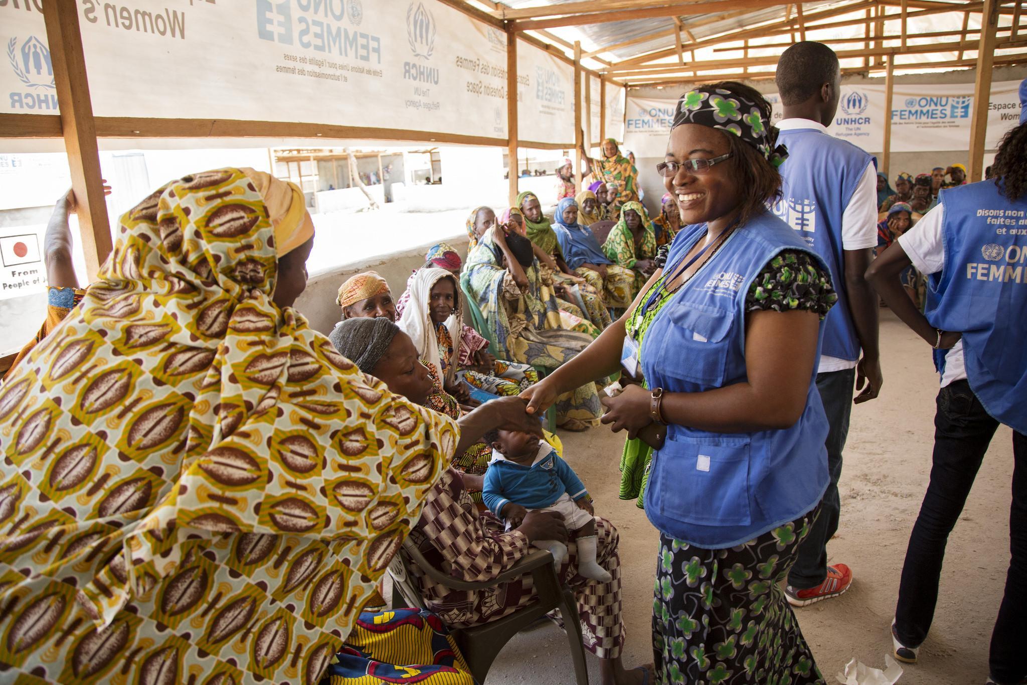 Kamerun - naistenkokous