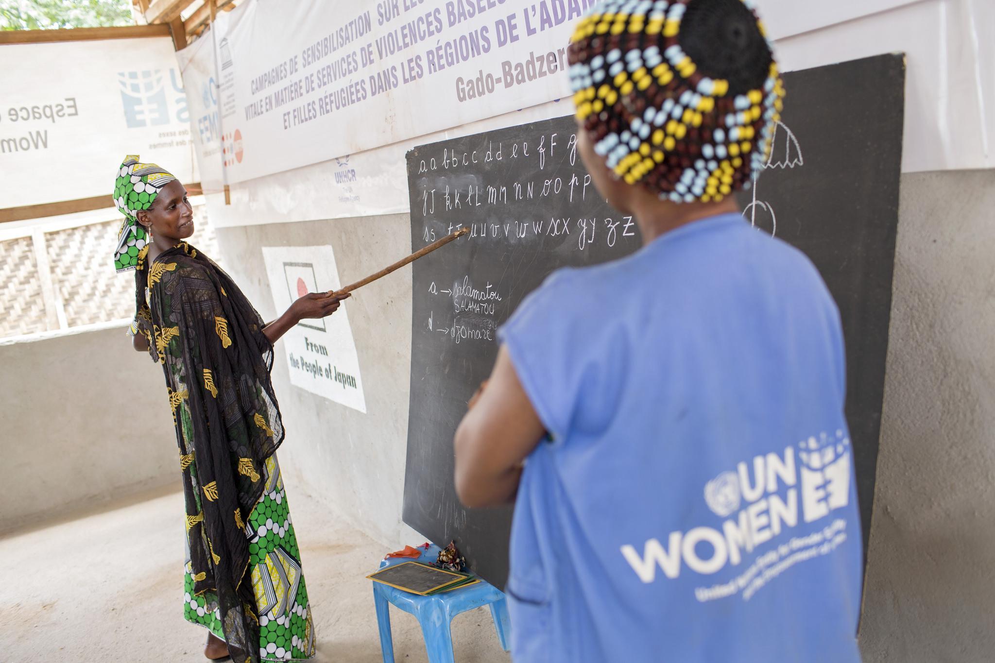 Kamerun - ranskan opetusta 2