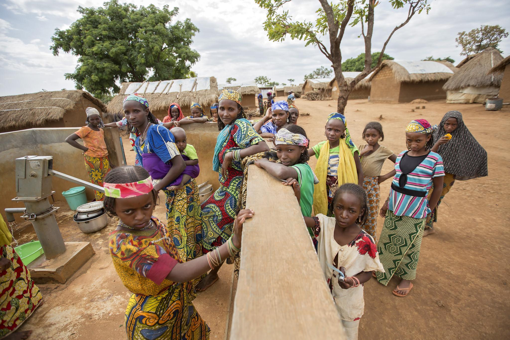 Kamerun - vesipumppu