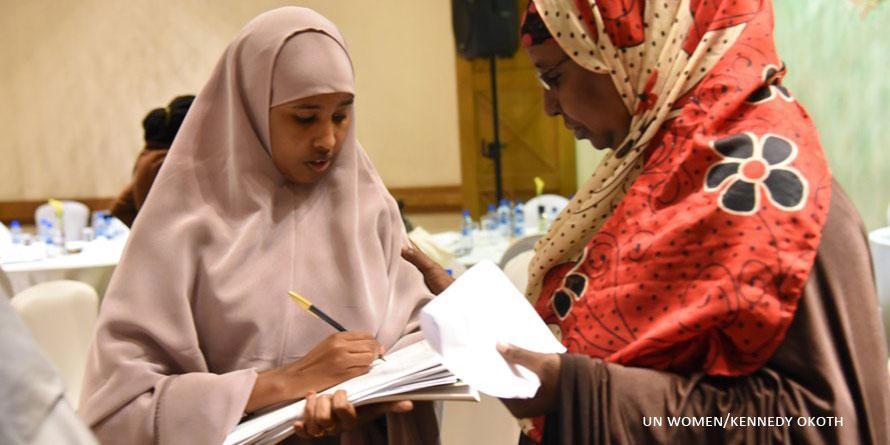 Naiset pyrkivät eteenpäin Kenian vaaleissa