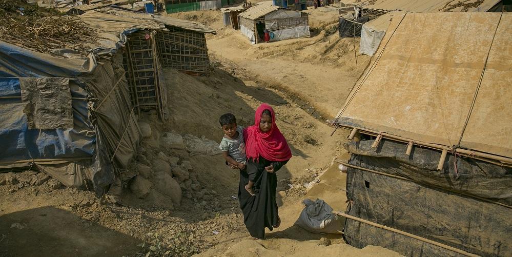 Pelätty monsuunikausi alkoi pakolaisleirillä Bangladeshissa